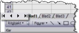 Bläddringspilarna i Excel har många hemligheter!